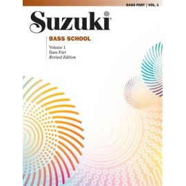 Suzuki Bass School Bass Part Volume 1 (Revised)