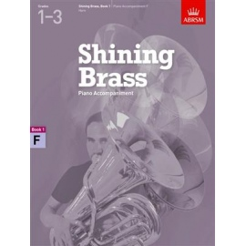 Shining Brass: Book 1 F Piano Accompaniments