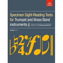 ABRSM Specimen Sight-Reading Tests for Trumpet Grades 1-5