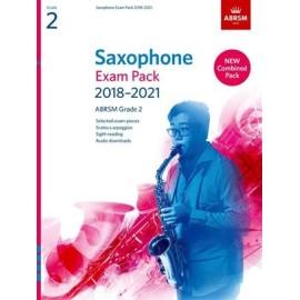 ABRSM Saxophone Exam Pack 2018-2021 Grade 2