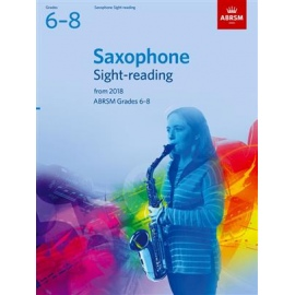 ABRSM Saxophone Sight-Reading Tests Grades 6-8