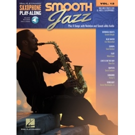 Smooth Jazz Saxophone Play-Along Volume 12