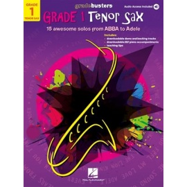 Gradebusters Grade 1 - Tenor Saxophone