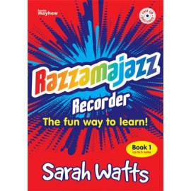 Razzamajazz Recorder Book 1 (Book & CD) By Sarah Watts
