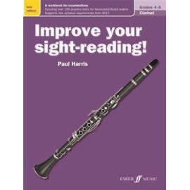 Improve your sight-reading! Clarinet Grades 4-5 (New)