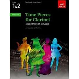 Time Pieces for Clarinet Volume 1 Grades 1&2