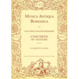 Musica Antiqua Bohemica : Concerto E flat major Clarinet