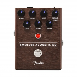 FENDER SMOLDER ACOUSTIC OVER DRIVE PEDAL