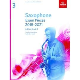 Saxophone Exam Pieces 2018-2021 Grade 3 ABRSM