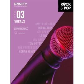 Trinity Rock and Pop Vocals grade 3
