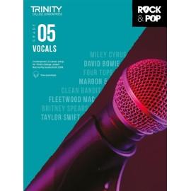 Trinity Rock and Pop Vocals grade 5