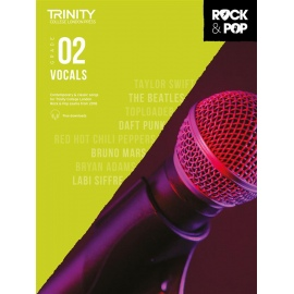 Trinity Rock and Pop Vocals grade 2