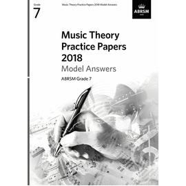 ABRSM Music Theory Practice Papers 2018 Model Answers Grade 7