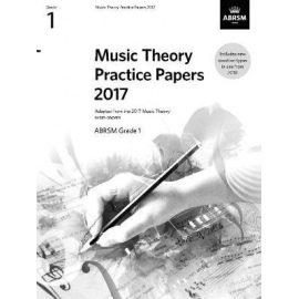 ABRSM Music Theory Practice Papers 2017 Grade 1