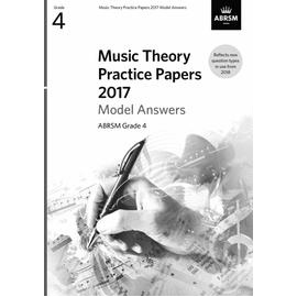 ABRSM Music Theory Practice Papers 2017 Model Answers Grade 4