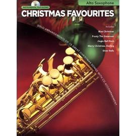 Christmas Favourites Alto Sax Book & Cd