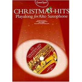 Christmas hits Playalong for alto saxophone