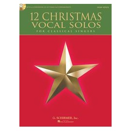 12 Christmas Vocal Solos for Classical Singers HIgh Voice