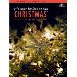 It's Never Too Late To Sing Christmas Book & CD