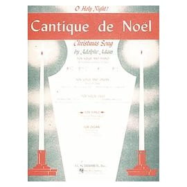 Cantique de Noel Voice and Piano