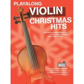 Playalong Violin Christmas Hits with companion CD