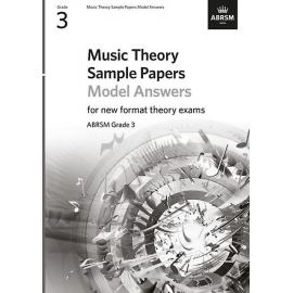 ABRSM Music Theory Sample Papers Model Answers New Format Grade 3