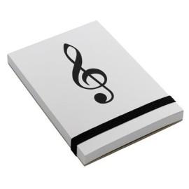Notepad Treble Clef A7