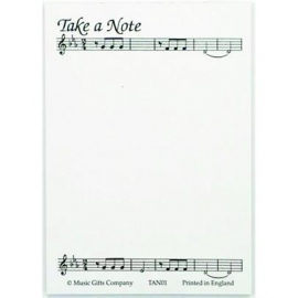 A6 Notepad Take A Note