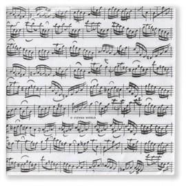 Sheet Music Paper Napkins