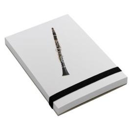 Notepad Clarinet A7