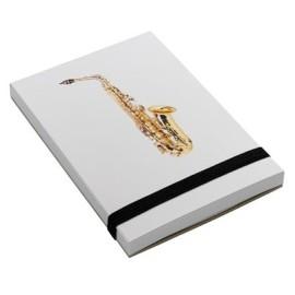 Notepad Saxaphone A7