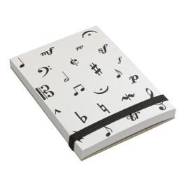 Music Symbol Notepad A7