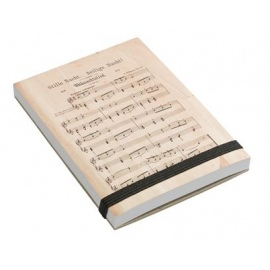 Notepad Silent Night A7