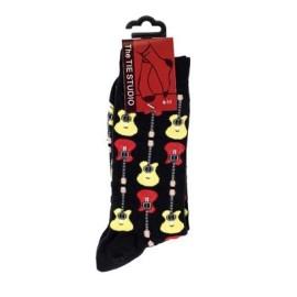 Acoustic Guitar Socks - Black (Size 6-11)