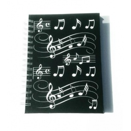 A6 Hardback Spiral Bound Notebook