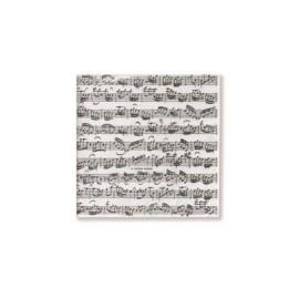 Paper napkins Sheet music 25x25cm