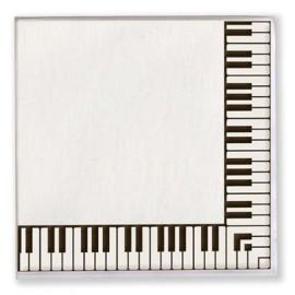 Keyboard Paper Napkins - 20 Pack