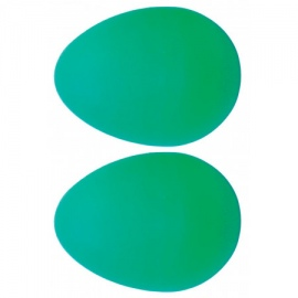 Atlas Pair of Shaky Eggs, Green