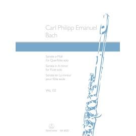 C.P.E Bach - Sonata in A minor for Flute Solo Wq 132