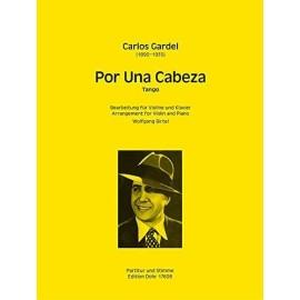 Gardel: Por Una Cabeza for Violin and Piano