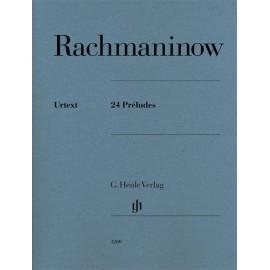 Rachmaninoff - 24 Preludes