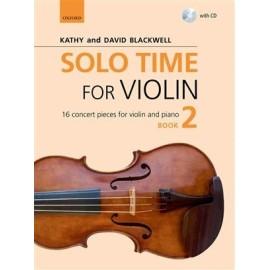 Solo Time For Violin Book 2