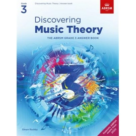 Discovering Music Theory - Grade 3 Answers