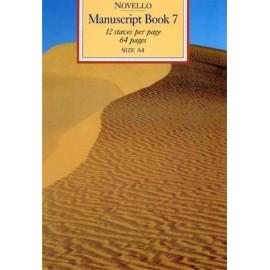 Novello Manuscript Book 7 A4 - Spiral Bound