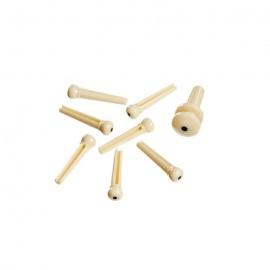 Planet Waves PWPS12 Injected Molded Bridge Pins set Ivory