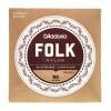 EJ33 Folk Nylon Classical Guitar Strings, Ball End