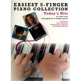 Easiest 5 Finger Piano Collection: Today's Hits