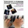 Easiest 5 Finger Piano Collection: Elton John