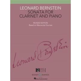 Bernstein Sonata for Clarinet and Piano