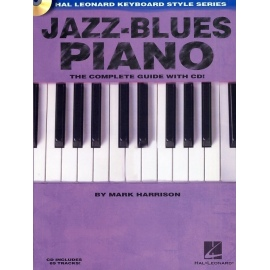 Jazz-Blues Piano: The Complete Guide With CD